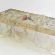Opbaarplank met wade en voile